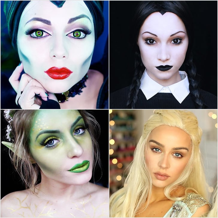 Best Halloween Makeup Tutorials on YouTube | POPSUGAR Beauty