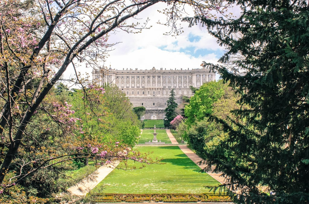 Looking to feast your eyes on a beautiful, historic palace? If so, head over to the Sabatini Gardens. Located on the north side of the Royal Palace, these neoclassical-style gardens not only offer magnificent views, but exploring this area is also free!