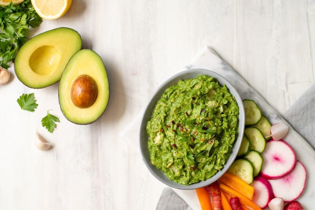 Avocado, Spinach, and Artichoke Spread