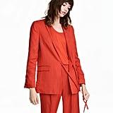 H&M Linen-Blend Jacket
