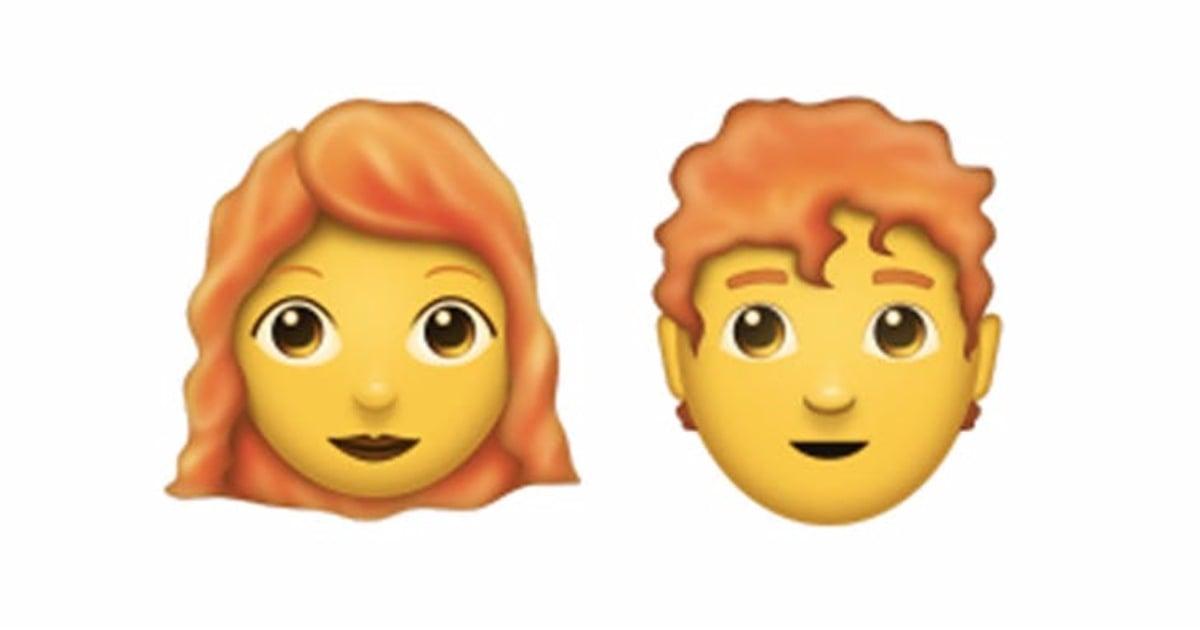 Redhead Emoji Coming In June 2018 Popsugar Beauty Australia