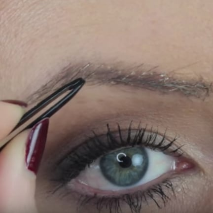Woman Cuts Off Hair to Use on Eyebrows