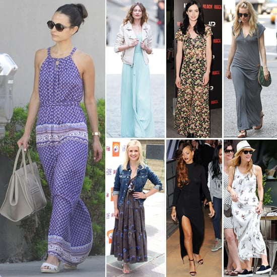 Different ways to wear maxi dresses