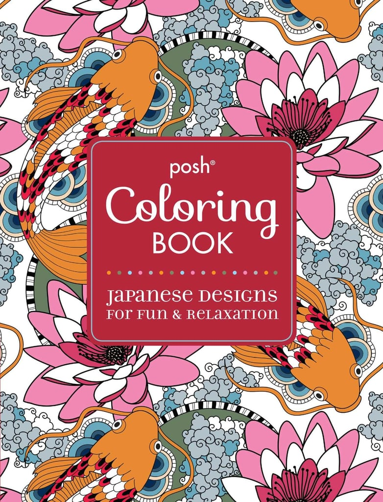 Coloring Book Cover Ideas : Adult coloring books popsugar smart living