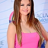 Selena Gomez attended the Teen Choice Awards on her birthday.