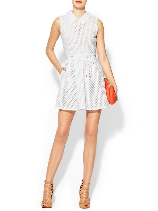 If you haven't yet found your perfect Summer white dress — or you're just looking to add another one to your arsenal — this Juicy Couture eyelet dress ($158, originally $198) has a sweet-meets-preppy feel that works for a variety of occasions.