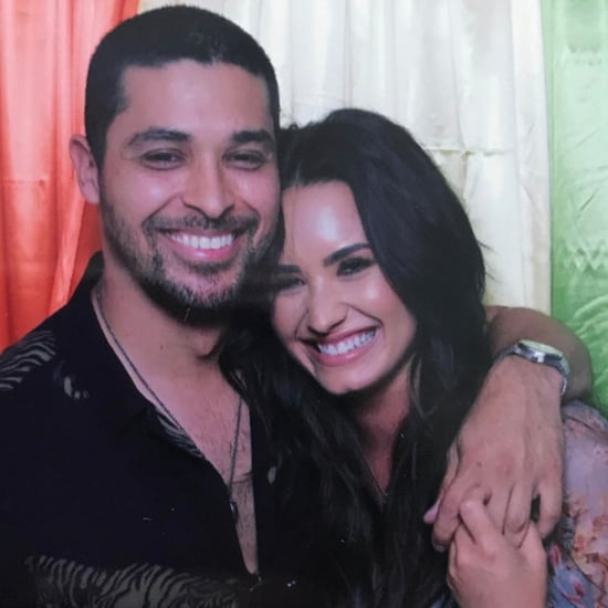 Demi Lovato and Wilmer Valderrama Instagram Photo June 2017