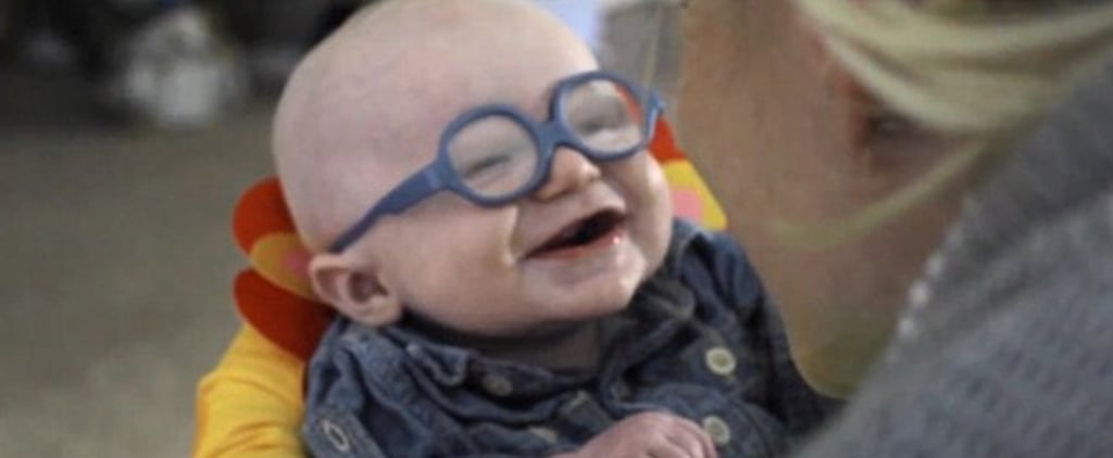 Baby With Eye Condition Sees For First Time