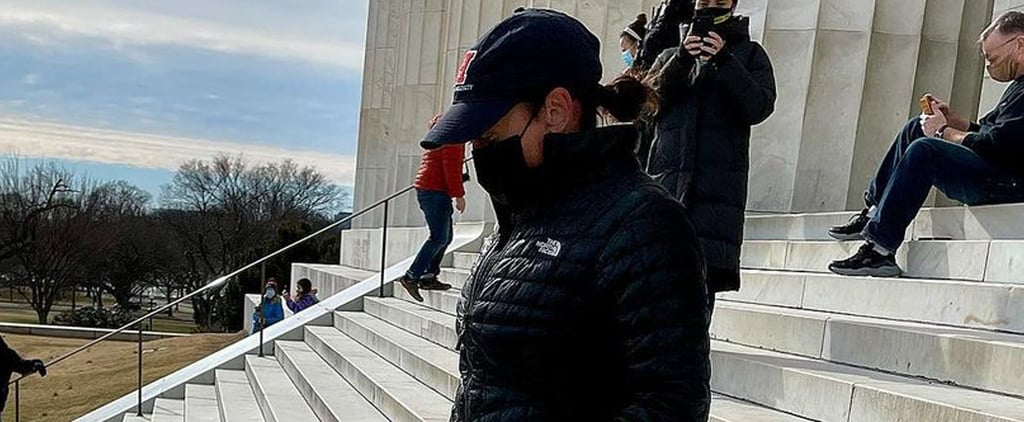 See Kamala Harris and Doug Emhoff Run Lincoln Memorial Steps