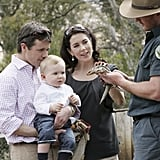 Frederik, Christian and Mary met with some native wildlife at Bonorong Park Wildlife Centre during a private visit to Hobart in Nov. 2006.