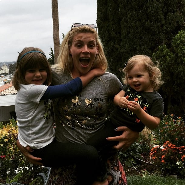 Busy Philipps With Cricket and Birdie