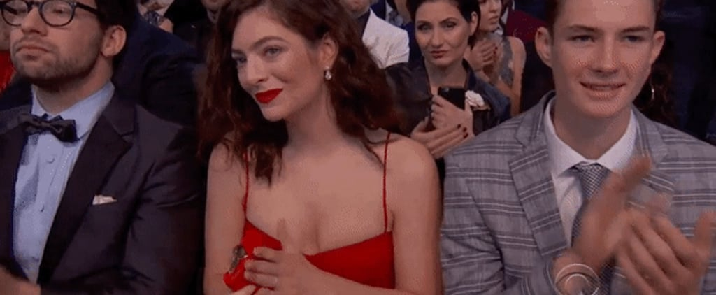 Lorde's Matching Red Flask Is the Unsung Hero of the 2018 Grammy Awards