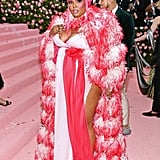 She dropped jaws and broke necks at the Met Gala. . .