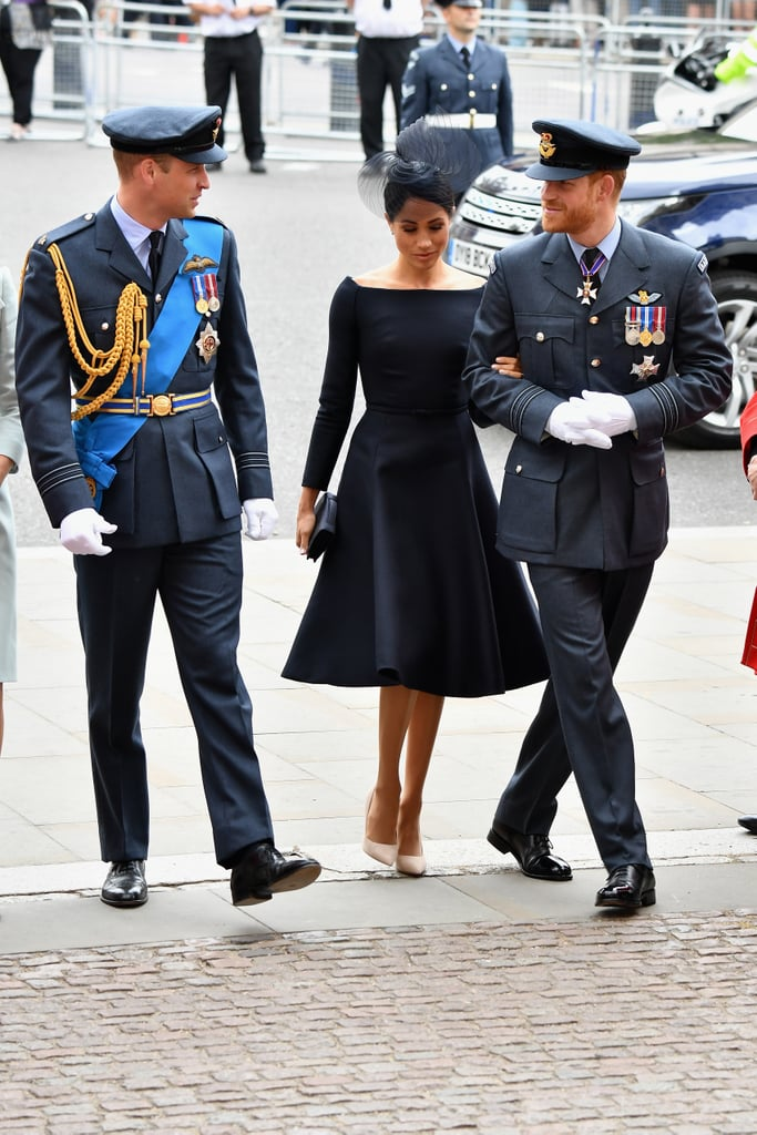 Meghan Markle's Black Dior Dress