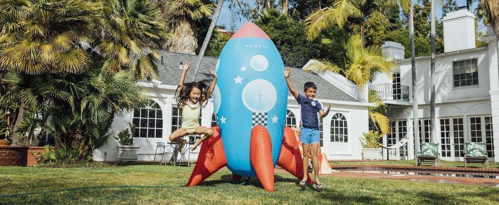 Funboy's Giant Rocket Ship Sprinkler For the Backyard