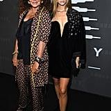 Diane von Furstenberg and Talita von Furstenberg at the Savage x Fenty New York Fashion Week Show