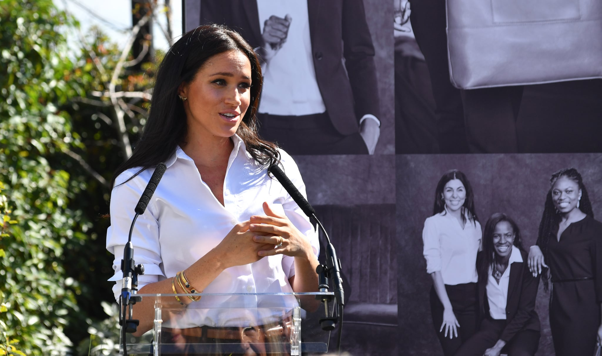 Meghan Markle's Speech Will Make You Feel So Much More Empowered to Donate Your Clothes