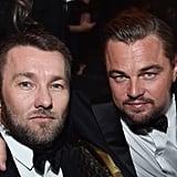 Pictured: Leonardo DiCaprio and Joel Edgerton