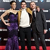 Tom Cruise was joined by Paula Patton and Simon Pegg on the red carpet.