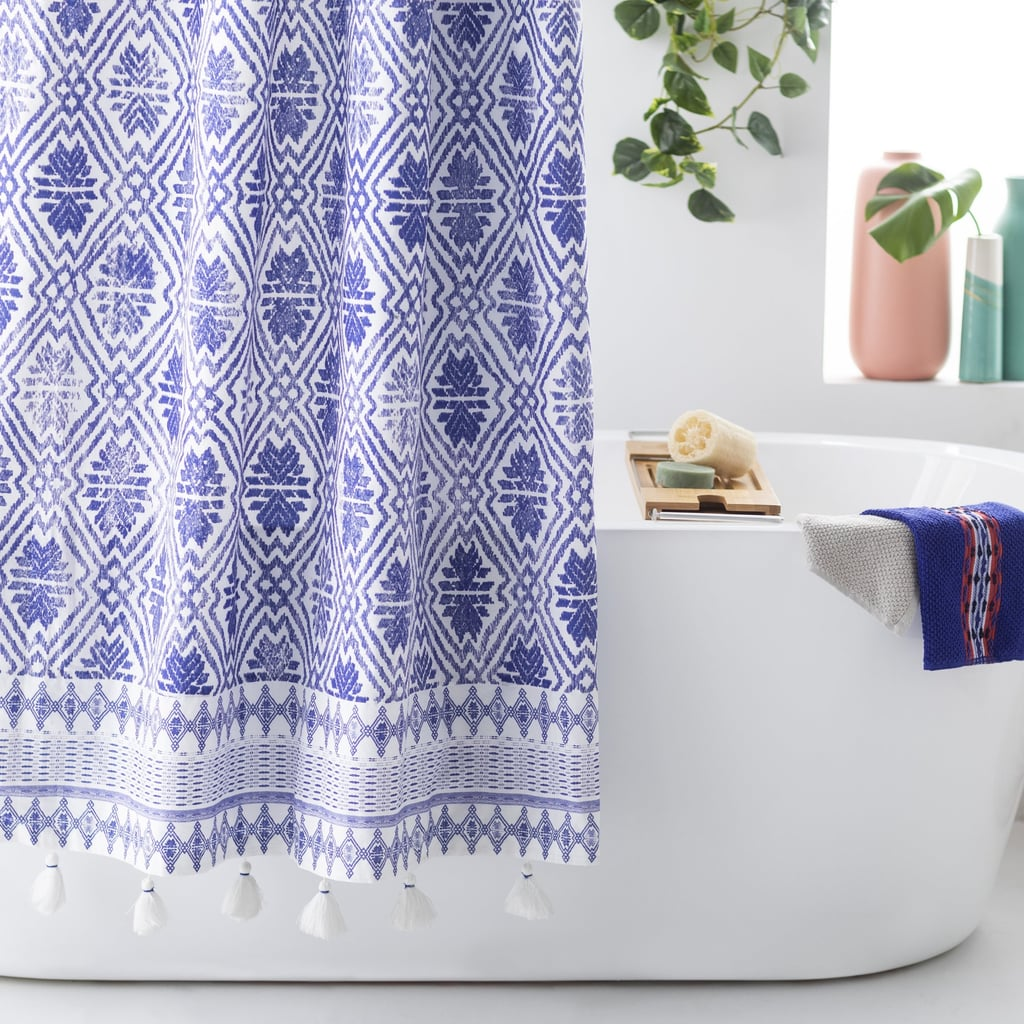 Batik Star Shower Curtain