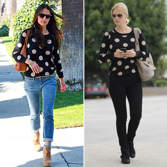 Celebrities Wearing Madewell Spotdot Sweater
