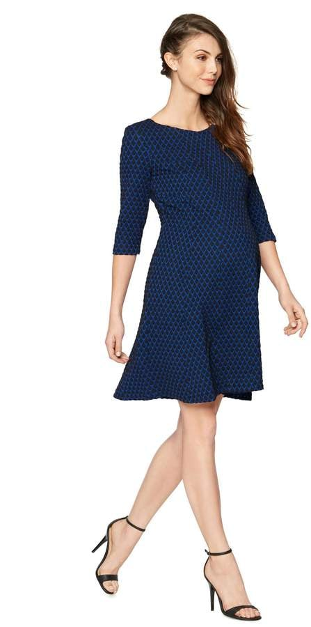 A Pea in the Pod Taylor Fit And Flare Maternity Dress