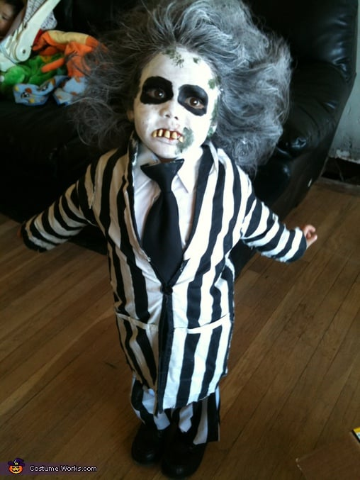 Baby Beetlejuice 21 Diy Kids Halloween Costumes Recycled From Things You Already Have Popsugar Family Photo 14