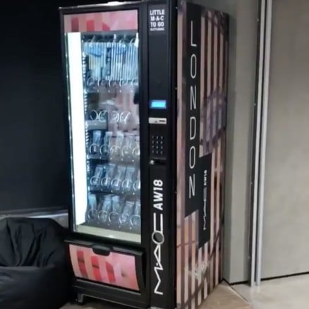 MAC Cosmetics Vending Machines