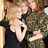 Kylie Minogue, Chrissie Hynde, and Stella McCartney