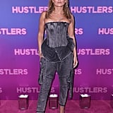 Jennifer Lopez Wears Balmain Denim at the Hustlers Screening