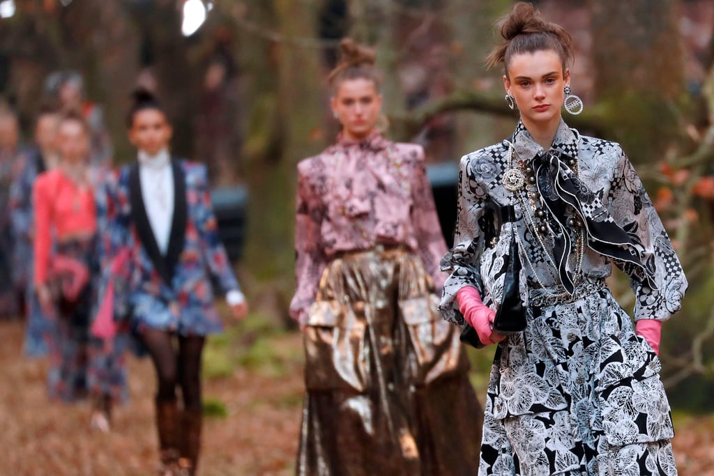 What Chanel Runway? Karl Lagerfeld's Models Just Trekked Through an Enchanted Forest