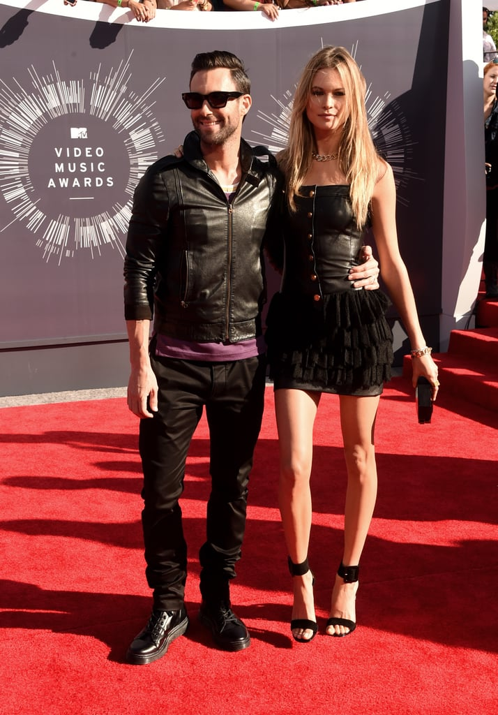 Behati Prinsloo at the 2014 MTV VMAs