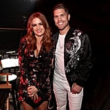 Pictured: Isla Fisher and Dustin Lynch