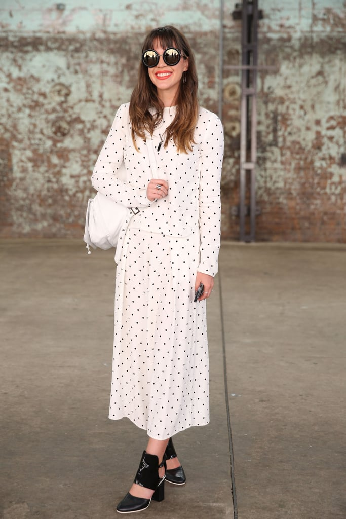 Make a maxi work for your 9-to-5 with polished footwear, not your weekend wedges.
