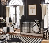 Everything You Need For an Incredibly Chic Black and White Nursery
