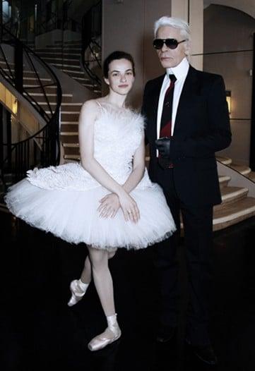 Chanel's Exquisite Ballerina