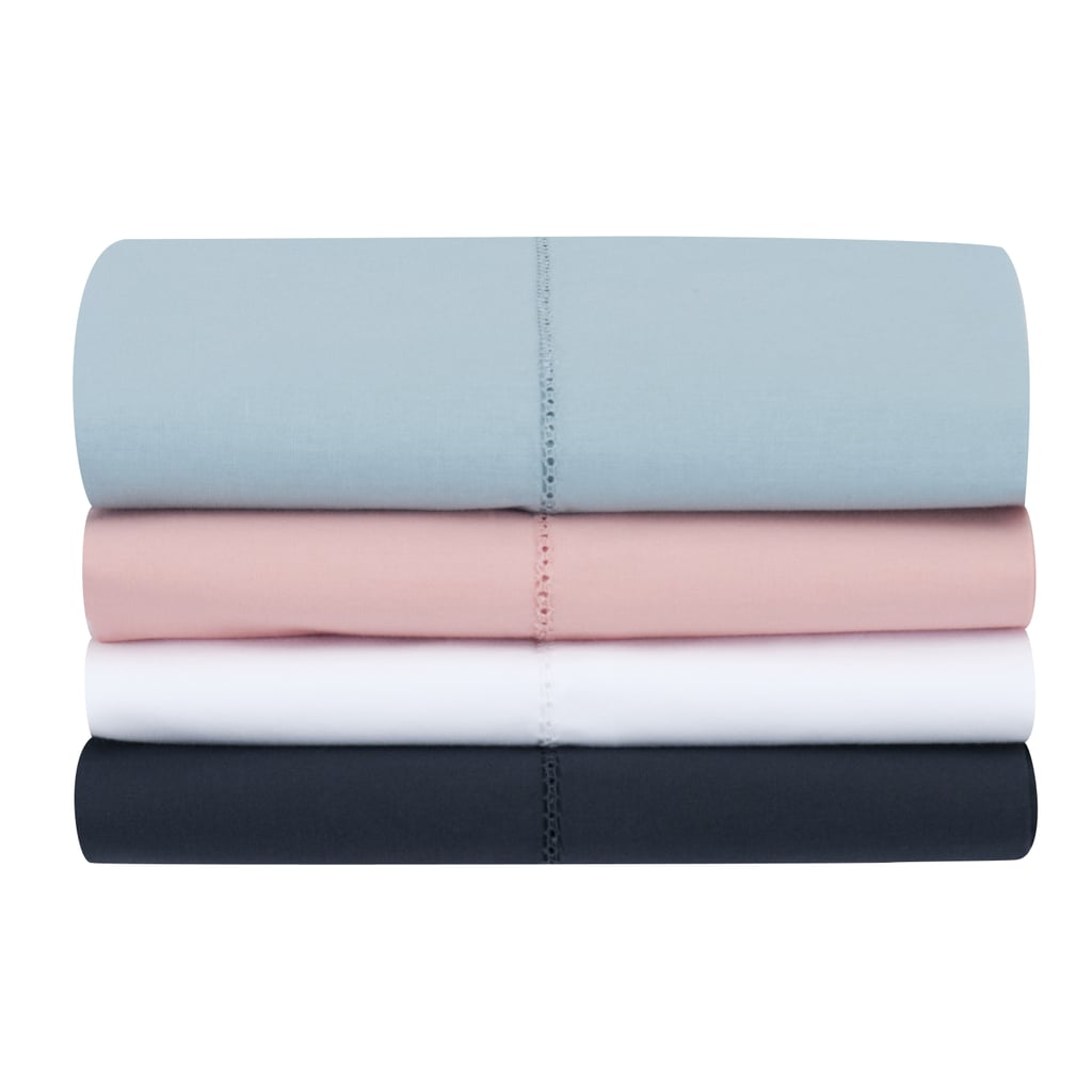 Mainstays 200 Thread Count Percale Sheet Set Best Cooling Sheets