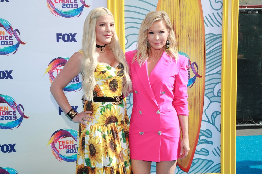 Tori Spelling and Jennie Garth at the Teen Choice Awards 2019