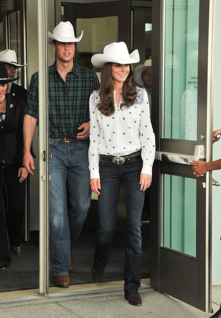 July 7th 2011 Greeting Onlookers At The Calgary Stampede