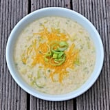 Low-Calorie Cheddar Cauliflower Soup
