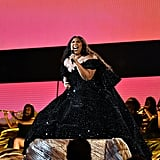 Lizzo's Christian Siriano Grammys Gown and Neon Bodysuit