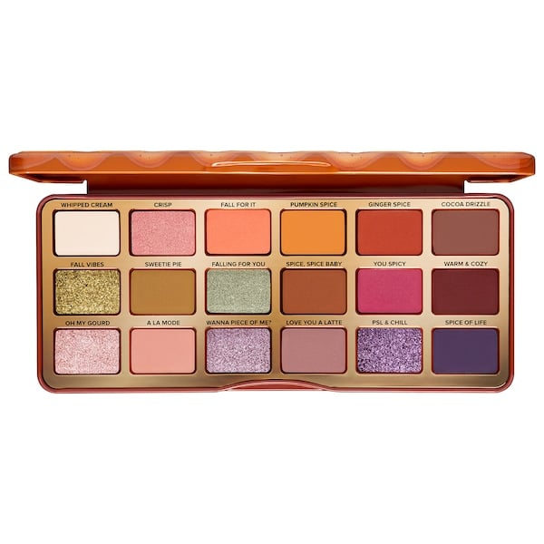 Too Faced Pumpkin Spice Warm and Spicy Eye Shadow Palette