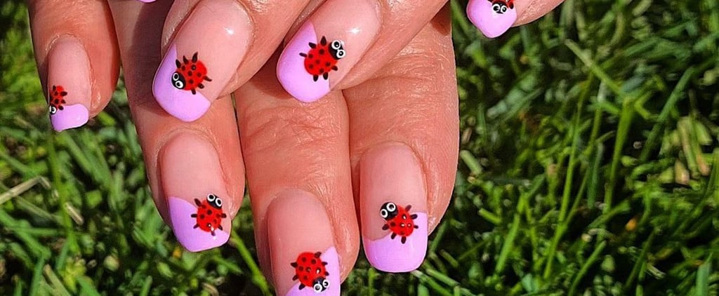 Ladybird Nail-Art Trend For Summer