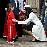 Meghan's First Commonwealth Day Service