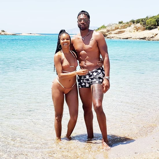 Gabrielle Union and Dwyane Wade Greece Holiday Photos 2019