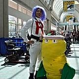 James of Team Rocket and Victreebel — Pokémon