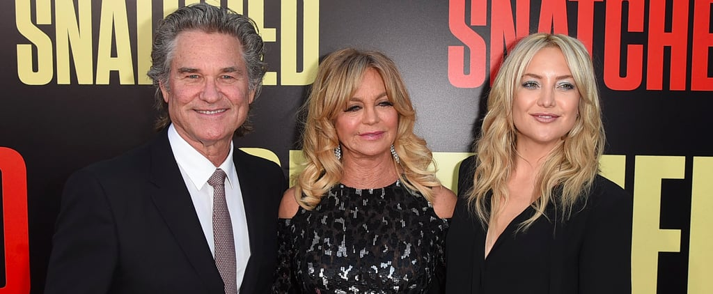 Kate Hudson and Her Man Crash Goldie Hawn and Kurt Russell's Red Carpet Date Night