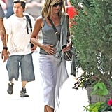 Jennifer Aniston Sports a Sexy Sheer Skirt and Scores a Walk of Fame Star