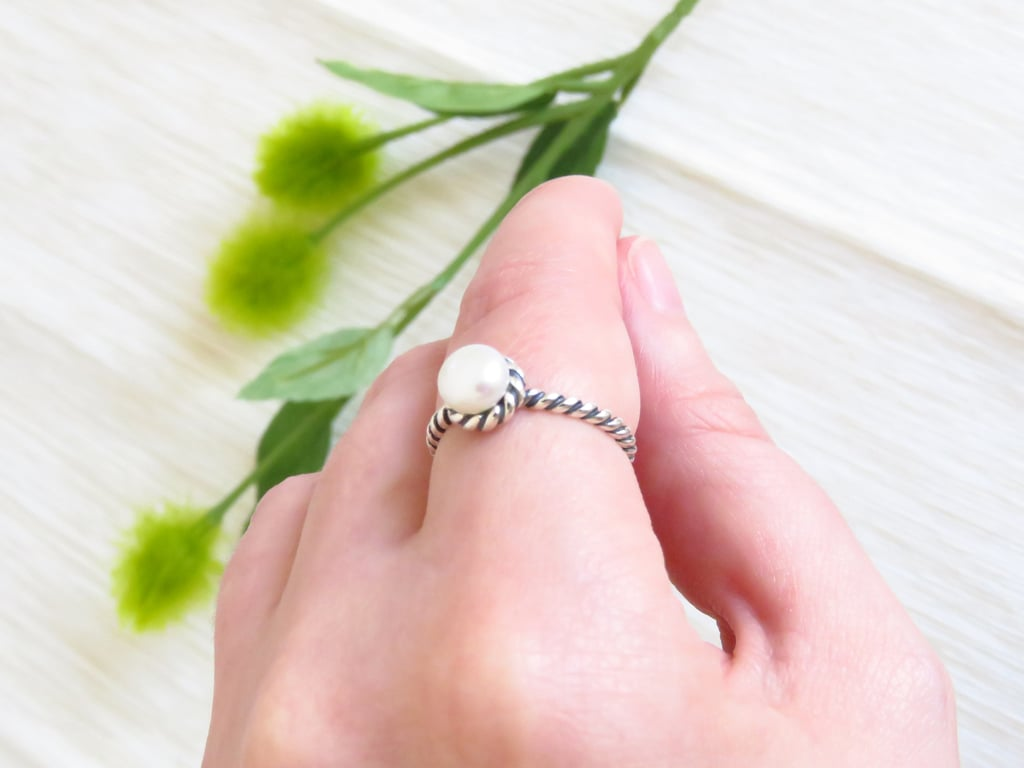 Daenerys Pearl Ring ($30) | Game of Thrones-Inspired Engagement ...