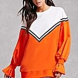 Forever 21 Korirl Chevron Sweatshirt